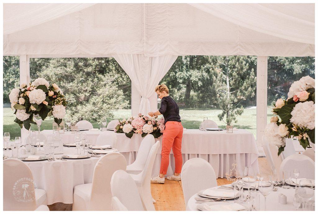 wedding planner przy pracy